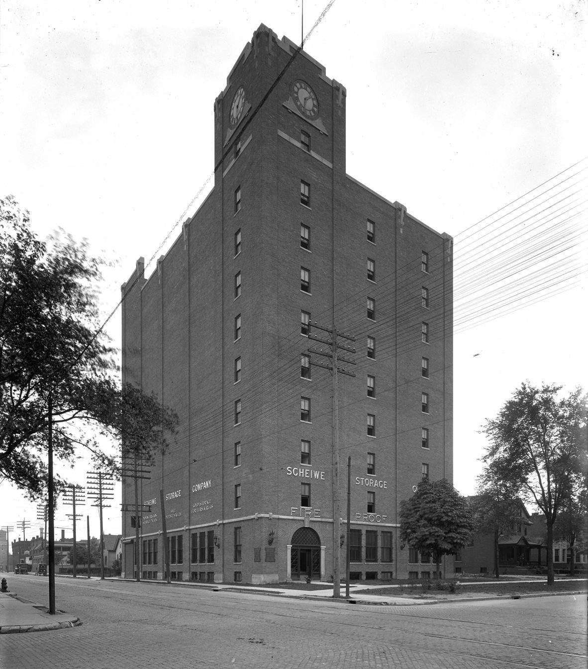 Historic image of Chroma building