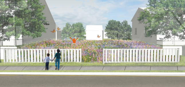 Digital rendering of Fitzgerald Revitalization Project