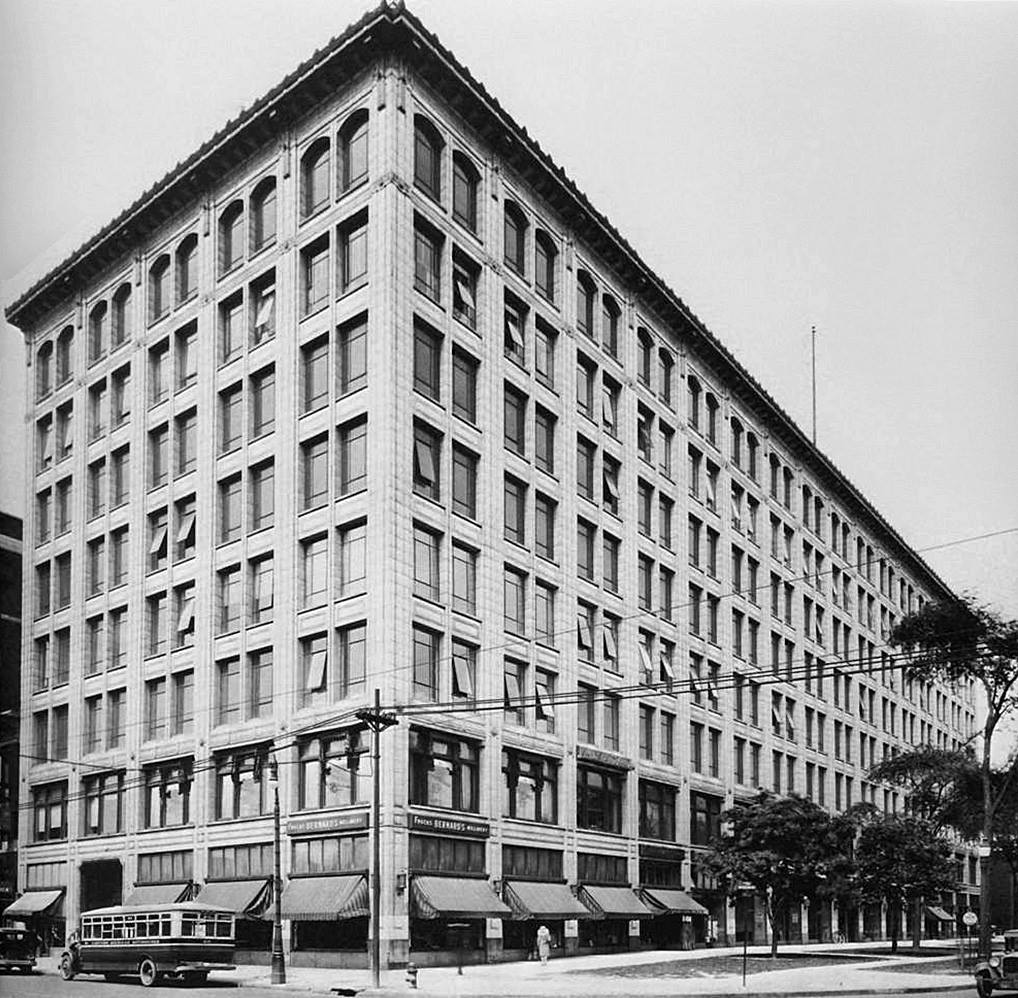 Historic image of 7300 Woodward building