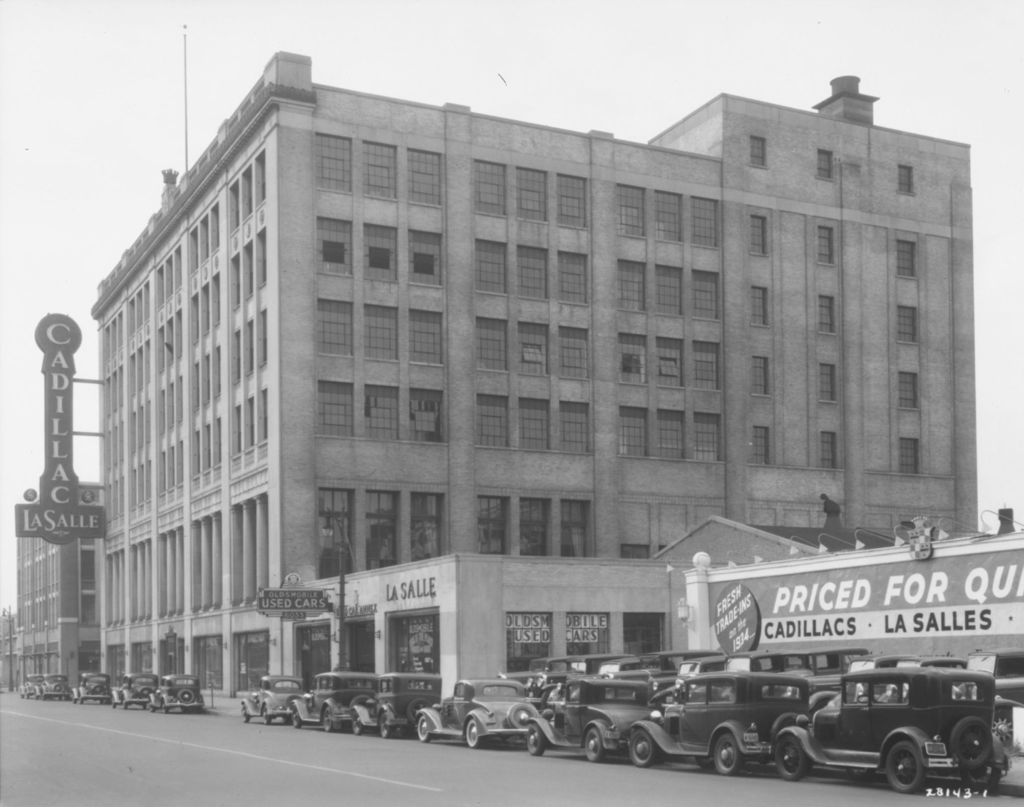 Historic exterior photo of 6001 Cass